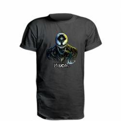Удлиненная футболка Venom Bust Art
