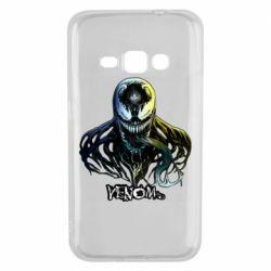 Чехол для Samsung J1 2016 Venom Bust Art