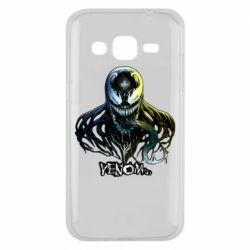 Чехол для Samsung J2 2015 Venom Bust Art