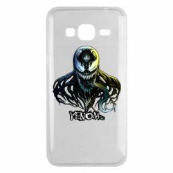 Чехол для Samsung J3 2016 Venom Bust Art