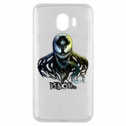 Чехол для Samsung J4 Venom Bust Art