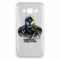 Чехол для Samsung J5 2015 Venom Bust Art
