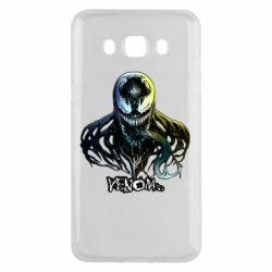 Чехол для Samsung J5 2016 Venom Bust Art