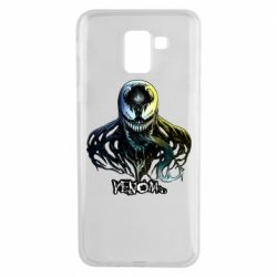 Чехол для Samsung J6 Venom Bust Art