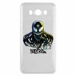 Чехол для Samsung J7 2016 Venom Bust Art