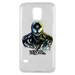 Чехол для Samsung S5 Venom Bust Art