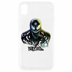 Чехол для iPhone XR Venom Bust Art