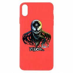Чехол для iPhone Xs Max Venom Bust Art