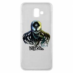 Чехол для Samsung J6 Plus 2018 Venom Bust Art