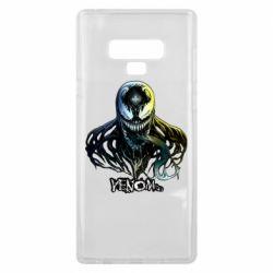 Чехол для Samsung Note 9 Venom Bust Art