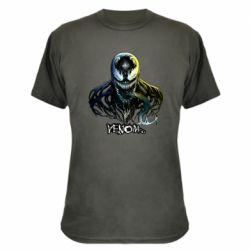 Камуфляжная футболка Venom Bust Art