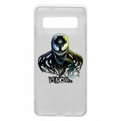 Чехол для Samsung S10 Venom Bust Art