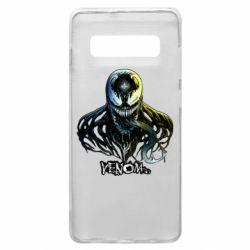 Чехол для Samsung S10+ Venom Bust Art