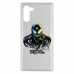 Чехол для Samsung Note 10 Venom Bust Art