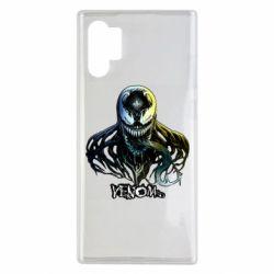 Чехол для Samsung Note 10 Plus Venom Bust Art