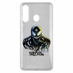 Чехол для Samsung M40 Venom Bust Art