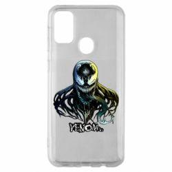 Чехол для Samsung M30s Venom Bust Art