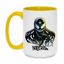 Кружка двухцветная 420ml Venom Bust Art
