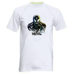 Мужская спортивная футболка Venom Bust Art