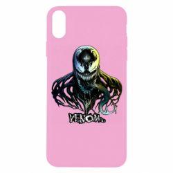 Чехол для iPhone X/Xs Venom Bust Art