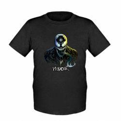 Детская футболка Venom Bust Art
