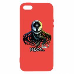 Чехол для iPhone5/5S/SE Venom Bust Art