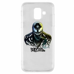 Чехол для Samsung A6 2018 Venom Bust Art