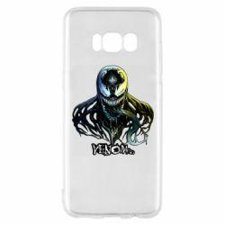 Чехол для Samsung S8 Venom Bust Art