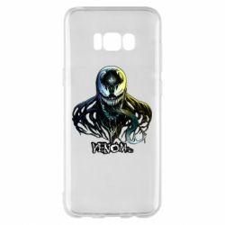 Чехол для Samsung S8+ Venom Bust Art