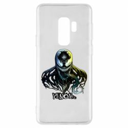 Чехол для Samsung S9+ Venom Bust Art