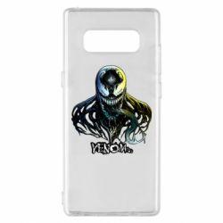 Чехол для Samsung Note 8 Venom Bust Art