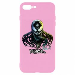 Чехол для iPhone 8 Plus Venom Bust Art