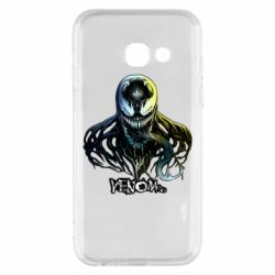Чехол для Samsung A3 2017 Venom Bust Art