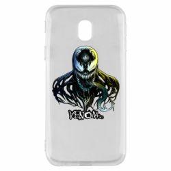 Чехол для Samsung J3 2017 Venom Bust Art