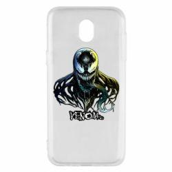 Чехол для Samsung J5 2017 Venom Bust Art