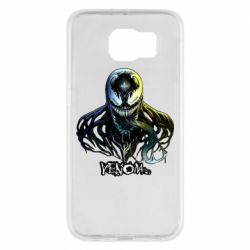 Чехол для Samsung S6 Venom Bust Art