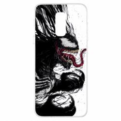 Купить Чехол для Samsung A6+ 2018 Venom digital fan art, FatLine