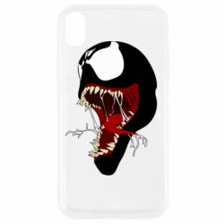 Чехол для iPhone XR Venom jaw