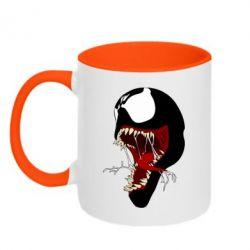 Кружка двоколірна 320ml Venom jaw