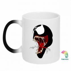Кружка-хамелеон Venom jaw