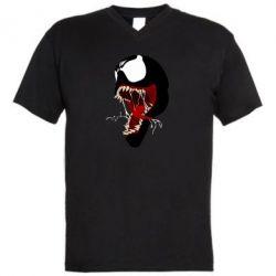 Чоловіча футболка з V-подібним вирізом Venom jaw