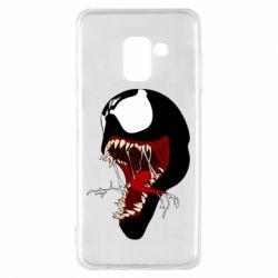 Чохол для Samsung A8 2018 Venom jaw
