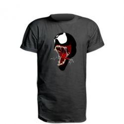 Подовжена футболка Venom jaw