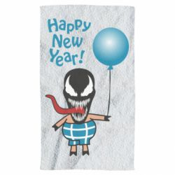 Рушник Venom pig with a ball wishes a happy new year