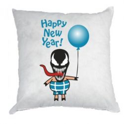 Подушка Venom pig with a ball wishes a happy new year