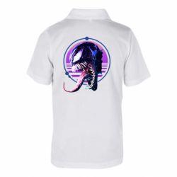 Дитяча футболка поло Venom profile