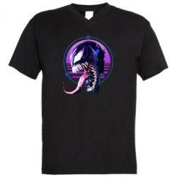 Чоловіча футболка з V-подібним вирізом Venom profile