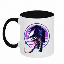 Кружка двоколірна 320ml Venom profile