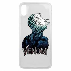Чохол для iPhone Xs Max Venom silhouette art