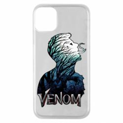 Чохол для iPhone 11 Pro Venom silhouette art